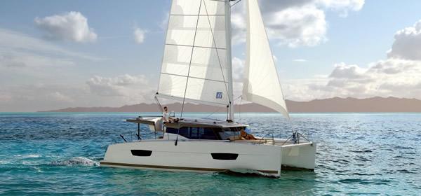 Lucia 40 Catamaran