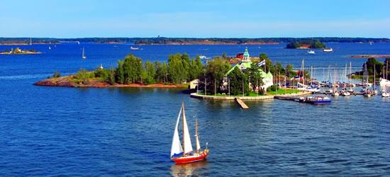 Il Mar Baltico, vicino a Helsinki