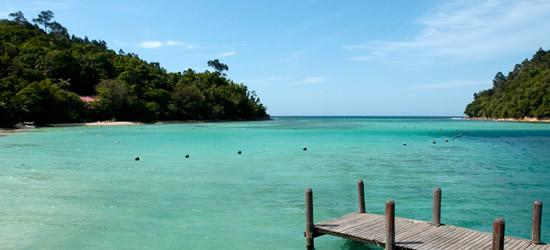 Tunku Abdul Rahman, Parco marino