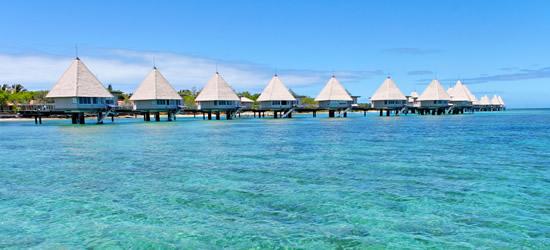 Bungalows galleggianti, Nuova Caledonia