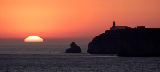 Tramonto a Cabo San Vicente, Algarve