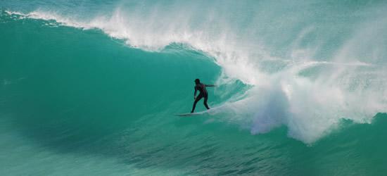 Aquamarine Surfer