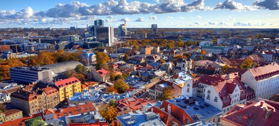 Tallinn, Orizzonte della Città Vecchia