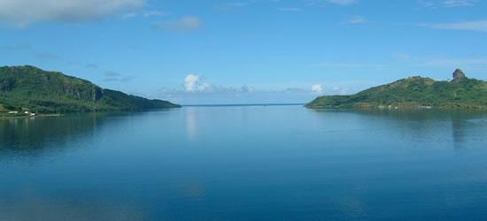 Lago di Huahine