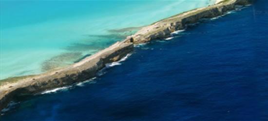 Ingresso al porto di Eleuthera