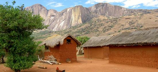 Un villaggio in Madagascar