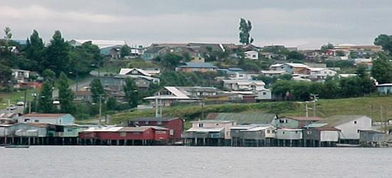Castro, capitale dell'isola di Chiloe