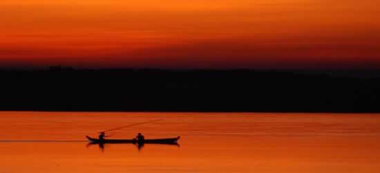 Pescatori all'alba