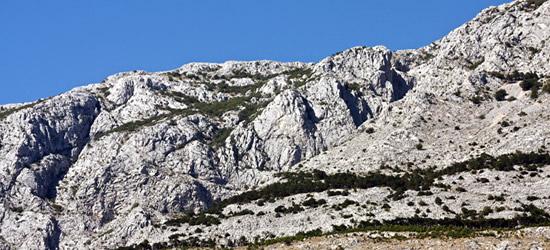 Montagne di Tucepi