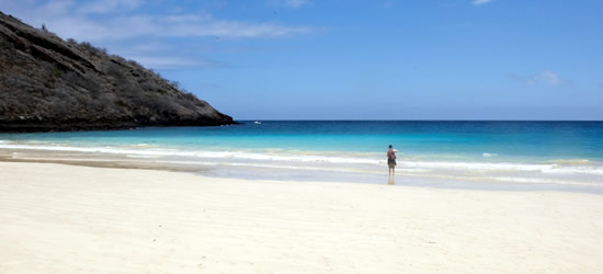 Sabbie bianche del Galapagos