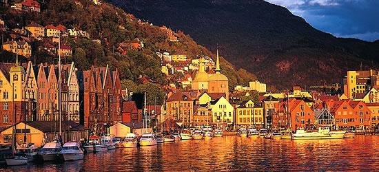 Tramonto a Bergen