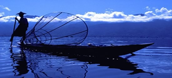 Un pescatore tradizionale