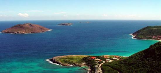 Costa tropicale di St Barth