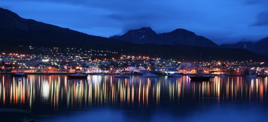 Ushuaia alla notte