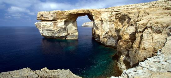 Finestra azzurra malta inter yacht charter italia - Malta finestra azzurra ...