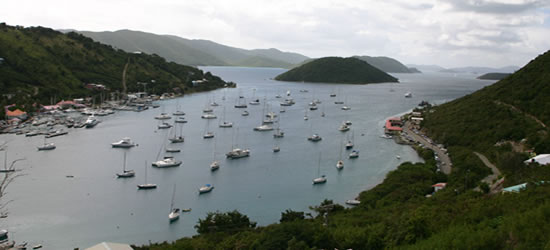 Soapers Hole, West End, BVI