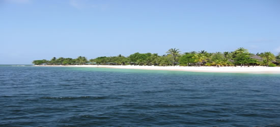 La costa occidentale di Santa Lucia