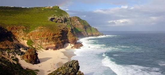 La frastagliata costa del Sud Africa