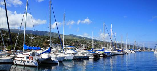Papeete Marina, Tahiti