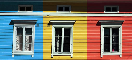 Windows colorate