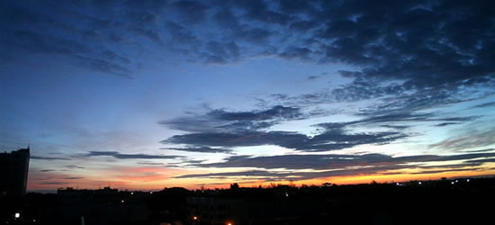 Tramonto malese