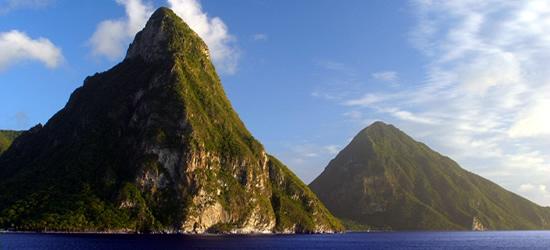 Le montagne Pitons, Santa Lucia