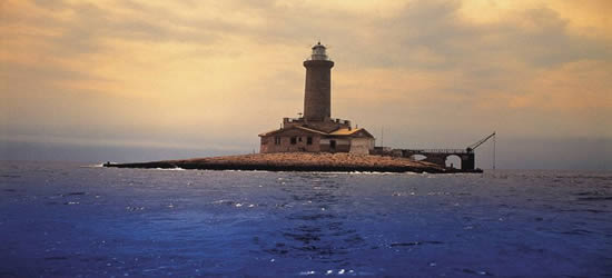 Una delle isole Kornati