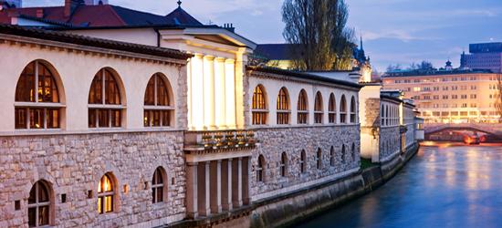 Fiume Ljubljanica, Slovenia