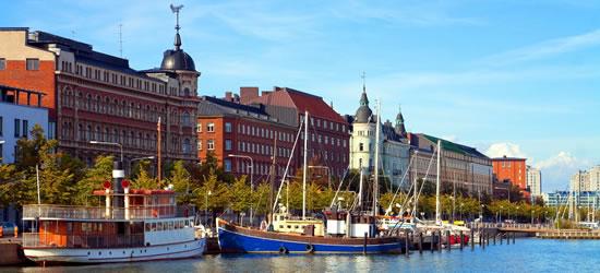 Il molo di Old Town, Helsinki