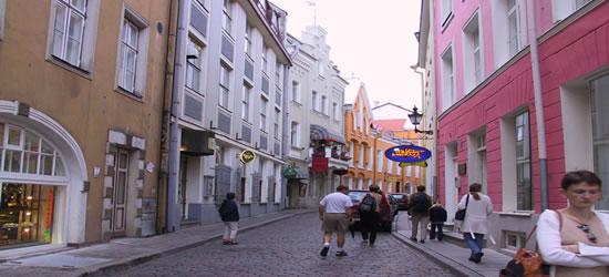 Strade di Tallinn