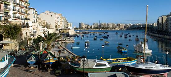 Baia di Spinola, Malta