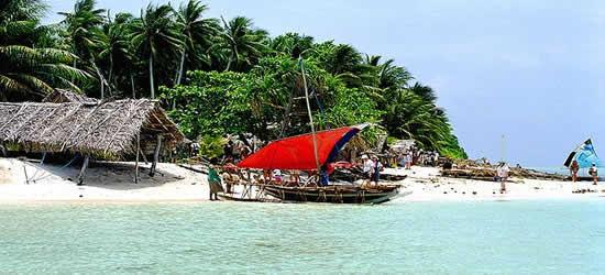 Un'Isola di Paradiso lungo la costa della Nuova Guinea