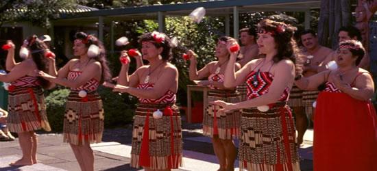 Danzatori Maori tradizionali