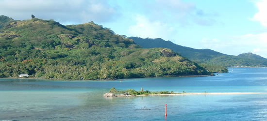 La Laguna, Huahine
