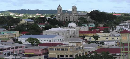 La capitale di Antigua, St Johns