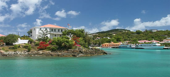 Cruz Bay, St John, Isole Vergini Americane