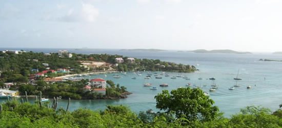 Cruz Bay, St Johns, USVI