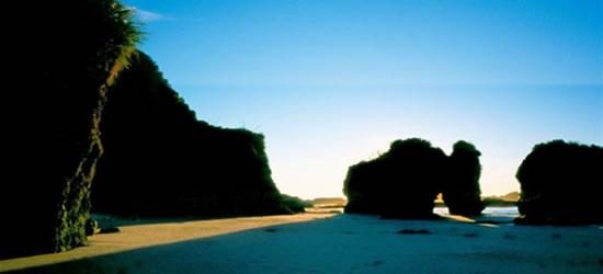 Spiagge a sud dell'isola
