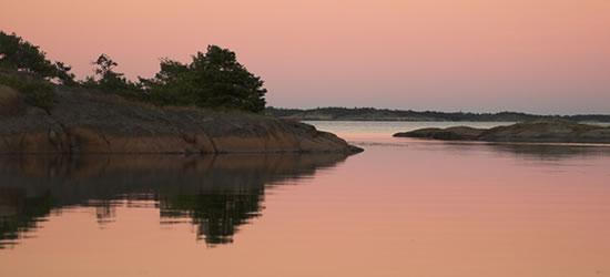 Aland Islands Sunset