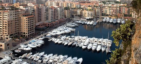 Il bacino del piccolo yacht, Monaco