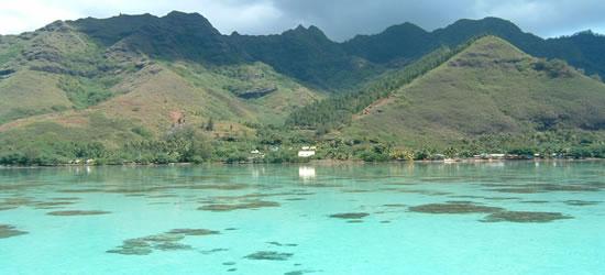 La laguna Blu