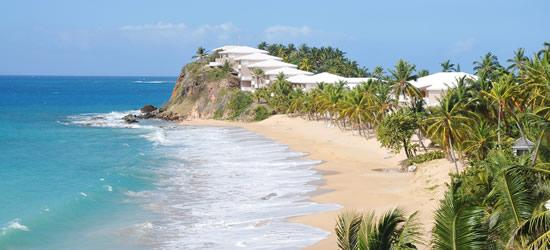 Costa Nord Ovest di Antigua