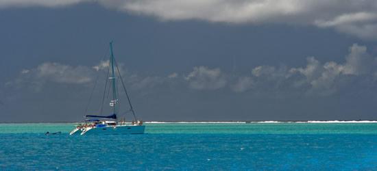 Tipo di blu, Tahiti