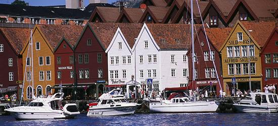 Il molo di Bergen