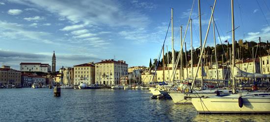 Piran Marina, Slovenia