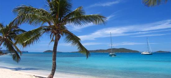 Yacht all'ancora, Tobago