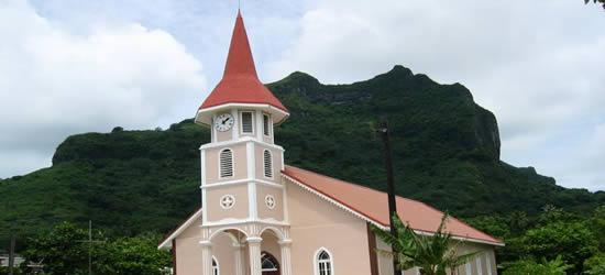Chiesa Protestante, Bora Bora
