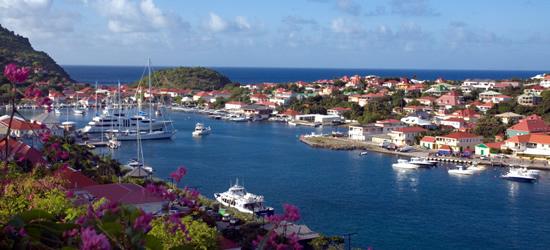 Il porto di Gustavia, St Barth