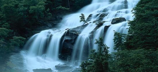 Cascata di Laerdal