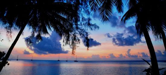 Bel tramonto, Tahiti